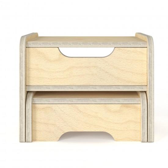 Bob-3 nightstand / Stools / Step